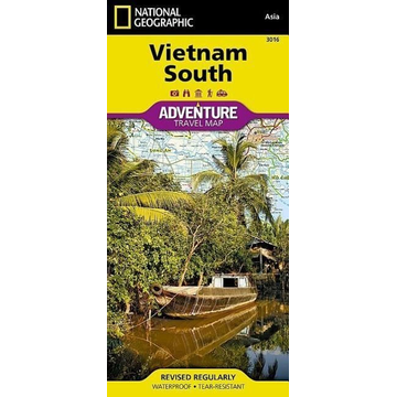 National Geographic Maps Vietnam South