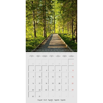 Ergler, Anja Finland - Land of a Thousand Lakes (Wall Calendar 2021 300 × 300 mm Square)