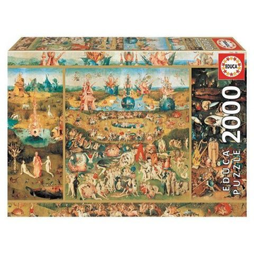 Educa Puzzle - The garden of delights 2000 Teile