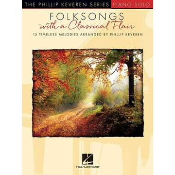 Hal Leonard Folksongs with a Classical Flair: The Phillip Keveren Series Piano Solo National Federation of Music Clubs 2020-2024 Selection