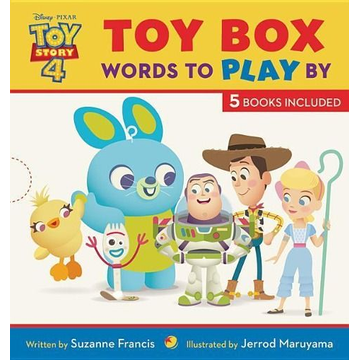 Francis, Suzanne Toy Story 4 Toy Box: Words to Play by