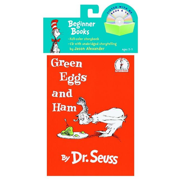 Dr Seuss Green Eggs and Ham with CD