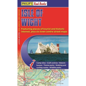 Philip's Maps Philip's Red Books Isle of Wight Map