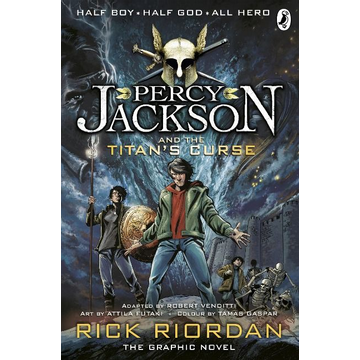 Riordan, Rick Percy Jackson and the Titan's Curse: The Graphic Novel