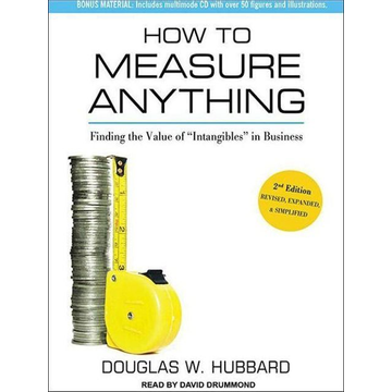Hubbard, Douglas W. How to Measure Anything: Finding the Value of Intangibles in Business