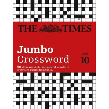 The Times Mind Games The Times 2 Jumbo Crossword Book 10