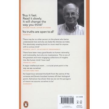 Kahneman, Daniel ISBN 9780141033570 book Reference & languages English Paperback 512 pages