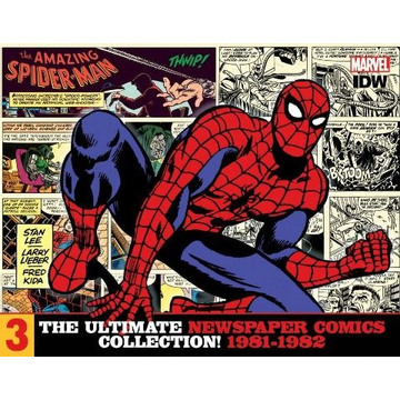 Lee, Stan The Amazing Spider-Man: The Ultimate Newspaper Comics Collection Volume 3 (1981- 1982)
