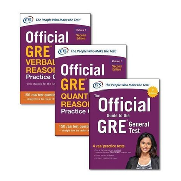 Educational Testing Service Official GRE Super Power Pack, Second Edition