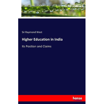 West, Sir Raymond Higher Education in India