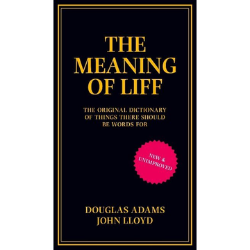 Adams, Douglas ISBN The Meaning of Liff book English Hardcover 240 pages