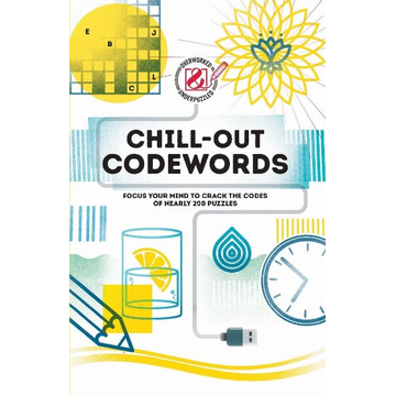 The Puzzle People ISBN Chill-out Codewords book Paperback 224 pages