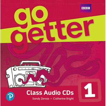 Zervas, Sandy GoGetter 1 Class Audio CDs