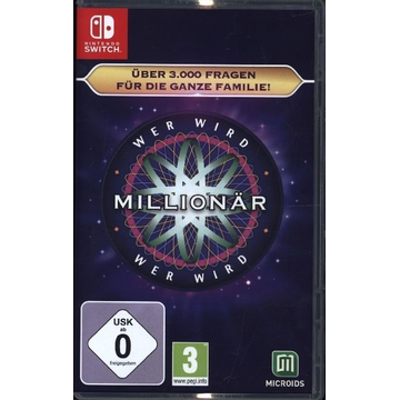 GAME GAME Who Wants To Be A Millionaire Basic German, English Nintendo Switch