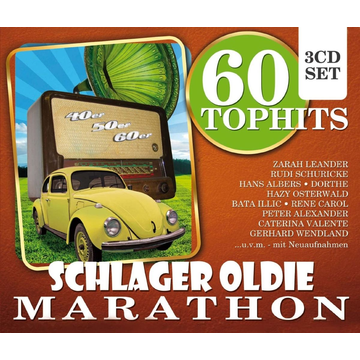 Various 60 Top Hits Schlager Oldie