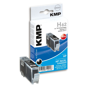 KMP H62 ink cartridge 1 pc(s) Black