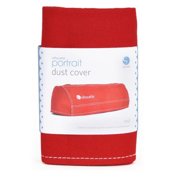 Silhouette Silhouette COVER- POR- RED equipment dust cover