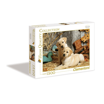 Clementoni Hunting Dogs Jigsaw puzzle 1500 pc(s)