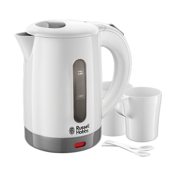 Russell Hobbs 23840-70 electric kettle 0.85 L 1000 W Grey, White