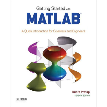 Rudra Pratap Getting Started with MATLAB