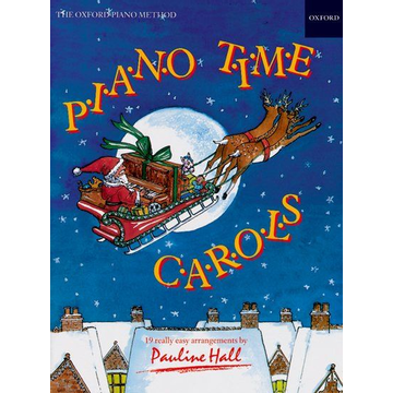 Pauline Hall ISBN Piano Time Carols book 28 pages