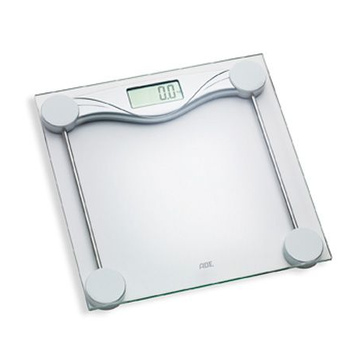 ADE ADE Olivia Rectangle Stainless steel Electronic personal scale