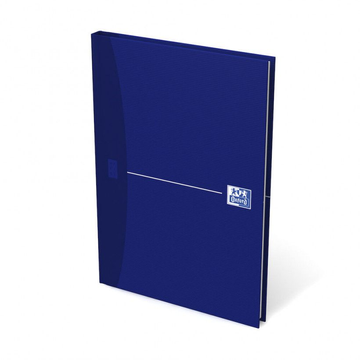 Hamelin Oxford Office Essentials writing notebook A5 96 sheets Blue