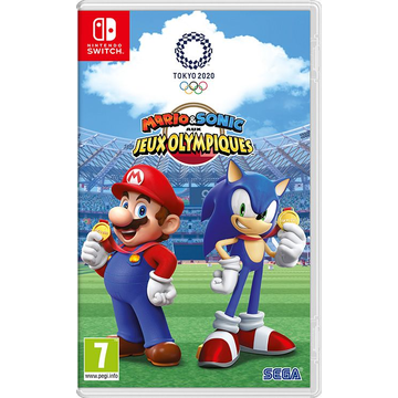 Nintendo Mario & Sonic aux Jeux Olympiques de Tokyo 2020 Basic English, French Nintendo Switch