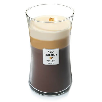 WoodWick WoodWick 93904 wax candle Other Caramel, Vanilla Brown, White 1 pc(s)
