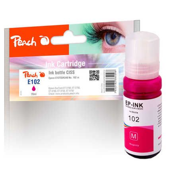 Peach PI200-694 ink cartridge 1 pc(s) Compatible Standard Yield Magenta