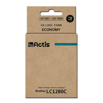 ACTIS Actis KB-1280C ink cartridge for Brother printer (Brother LC-1280C replacement) standard