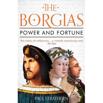 Strathern, Paul ISBN The Borgias book Paperback 400 pages