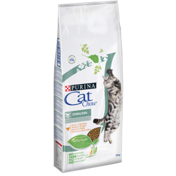 PURINA NESTLE Purina CAT CHOW STERILISED cats dry food 1.5 kg Adult Chicken