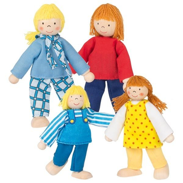 Goki Flexible puppets Young Family
