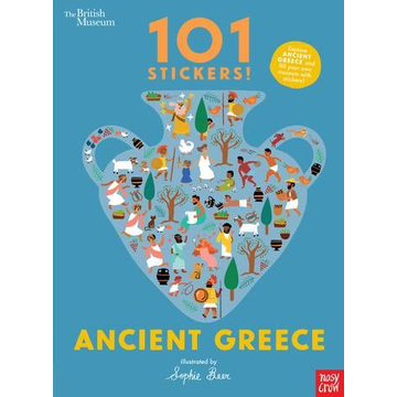 Sophie Beer ISBN British Museum 101 Stickers! Ancient Greece book Paperback 24 pages