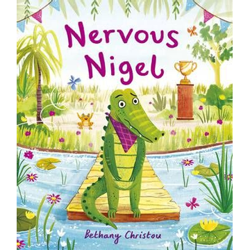 Christou, Bethany ISBN Nervous Nigel book Paperback 40 pages