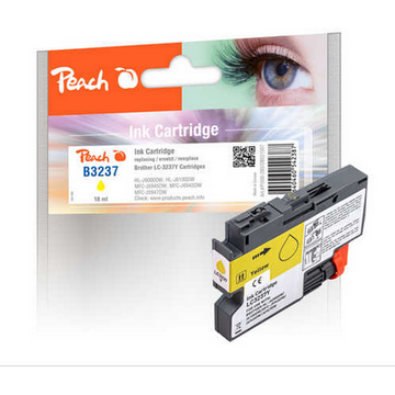 Peach Peach 321007 ink cartridge 1 pc(s) Compatible Yellow