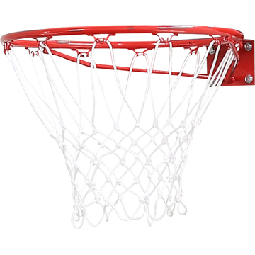 pure2improve Pure2improve P2I260030 basketball hoop 45 cm Red, White Steel Indoor/outdoor