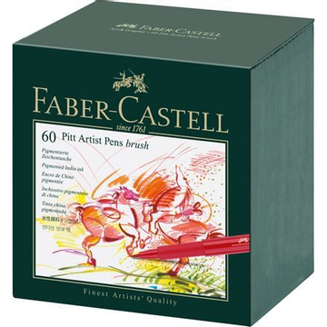 Faber-Castell Faber-Castell 167150 fineliner Bold Multicolour 60 pc(s)