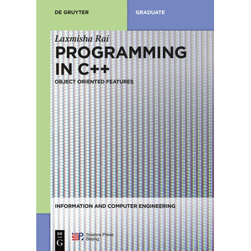 De Gruyter Programming in C++ - Object Oriented Features