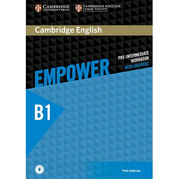 Klett Sprachen GmbH Cambridge English Empower B1 - Workbook + downloadable Audio