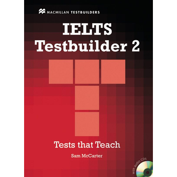 Sam McCarter IELTS Testbuilder 2 - Student's Book with 2 Audio-CDs and Key
