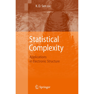 Springer Netherland Statistical Complexity - Applications in Electronic Structure