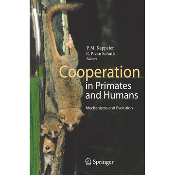 Springer Berlin Cooperation in Primates and Humans - Mechanisms and Evolution