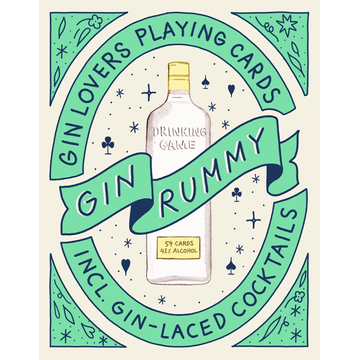 Gin Rummy - Gin Lovers Playing Cards