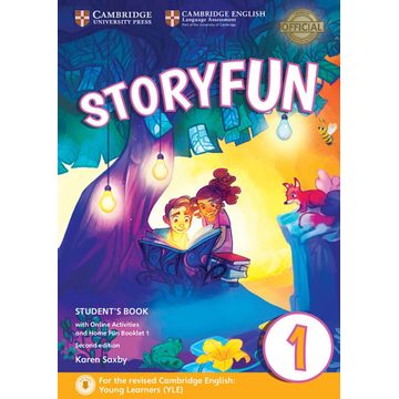Klett Sprachen GmbH Storyfun for Starters, Movers and Flyers 1 2nd Edition - Student's Book with online activities and Home Fun Booklet