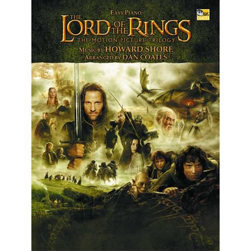 Howard Shore The Lord of the Rings Trilogy - Music from the Motion Pictures Arranged for Easy Piano