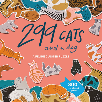 299 Cats (and a dog) - A Feline Cluster Puzzle