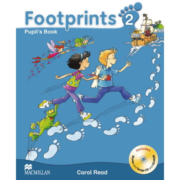 Carol Read Footprints 2 - Pupil's Book with Audio-CD + CD-ROM and Portfolio Booklet
