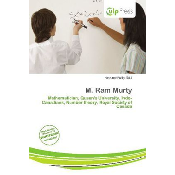 Alphascript Publishing M. Ram Murty - Mathematician, Queen's University, Indo-Canadians, Number theory, Royal Society of Canada